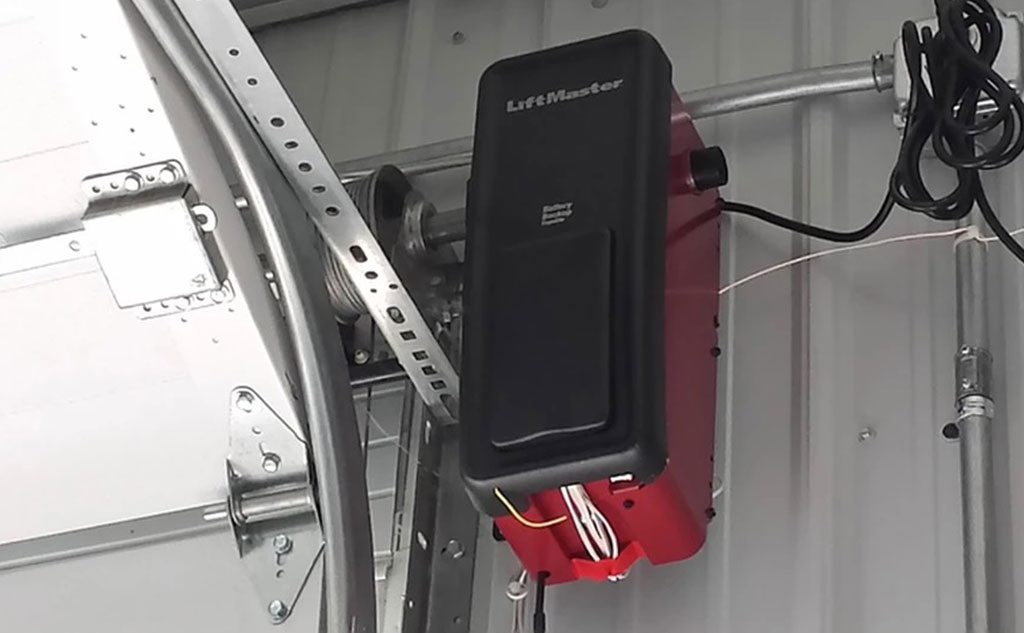 LiftMaster Garage Door Opener Side